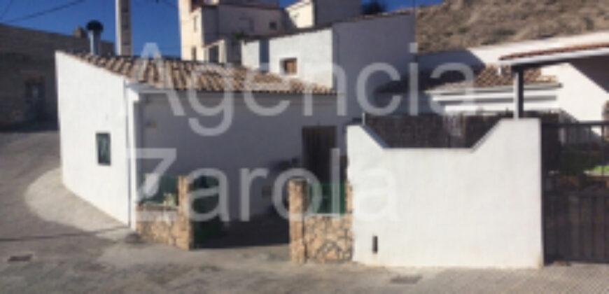 Casa Cueva en Capallon Algo de Zujar